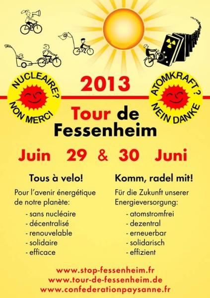 Tour de Fessenheim 2013