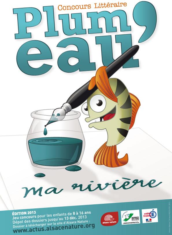 Plum'Eau 2013 - affiche
