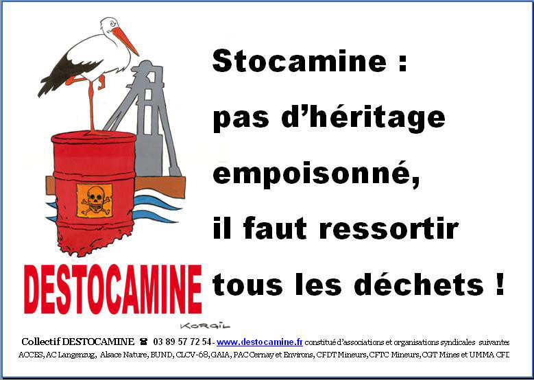 Scandale Stocamine : contre la pollution de la plus grande nappe phréatique d'Europe