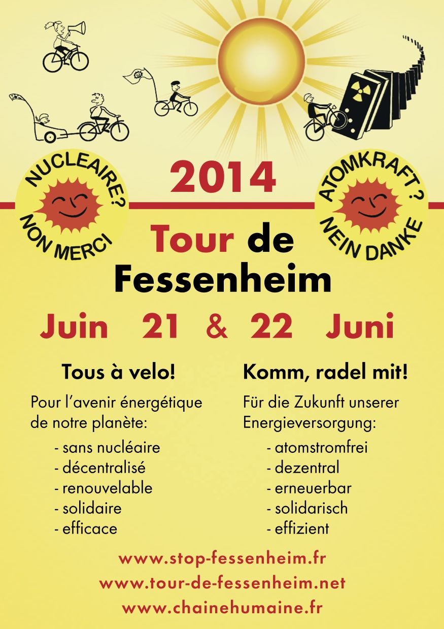 Fessenheim : 21 et 22 juin