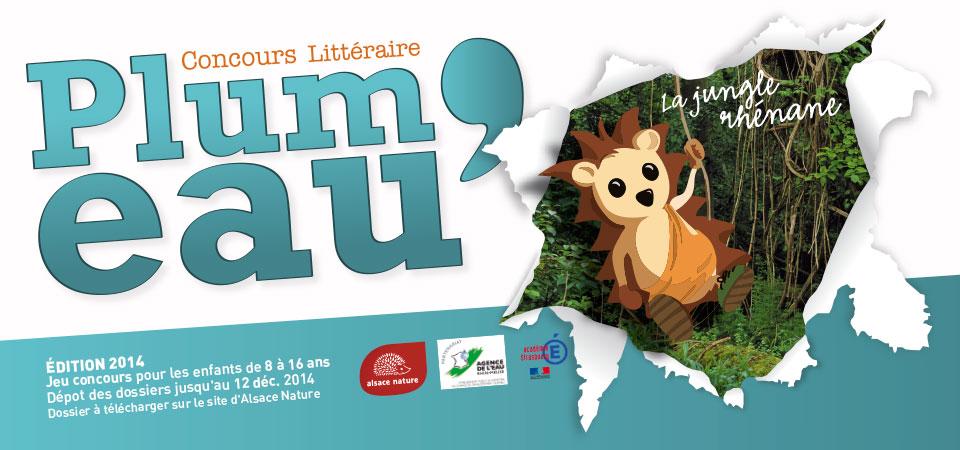 Lancement du concours Plum'Eau 2014 : « La jungle rhénane »