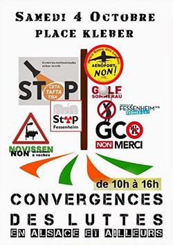 [Mobilisation] Contre ces grands projets inutiles – Strasbourg – 4 octobre 2014