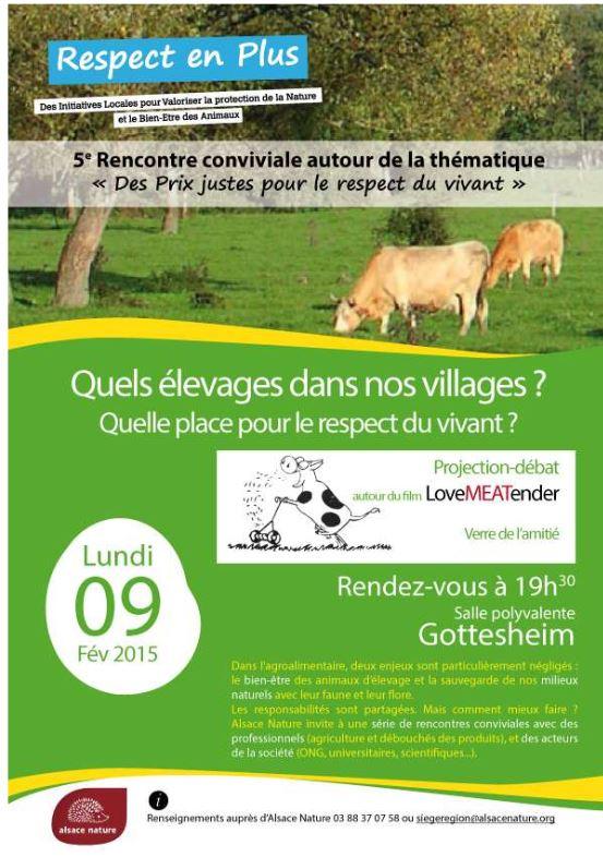 Ciné-Débat lundi 9 février – Quels élevages pour nos villages ?