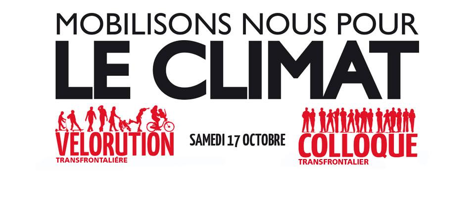 [ÉVÉNEMENT] COLLOQUE ET VÉLORUTION – Mobilisons nous pour le climat – 17 octobre 2015