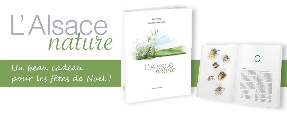 L'Alsace nature : un beau livre à offrir