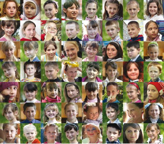 Recherche de familles d'accueil pour des enfants de Tchernobyl