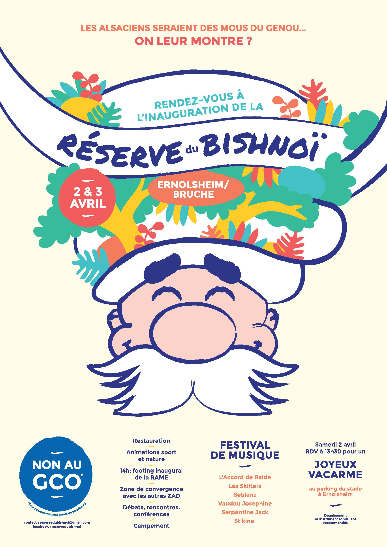2-3 réserve du Bishnoï – programme du week-end