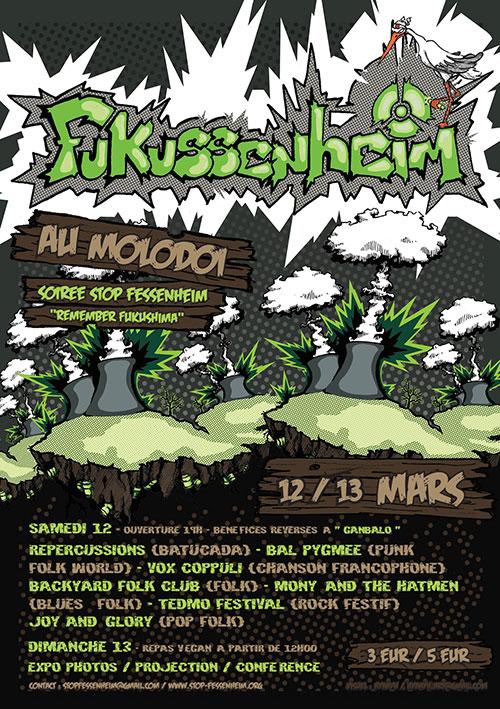 [Evénement] 12 et 13 mars – Fukussenheim au Molodoï