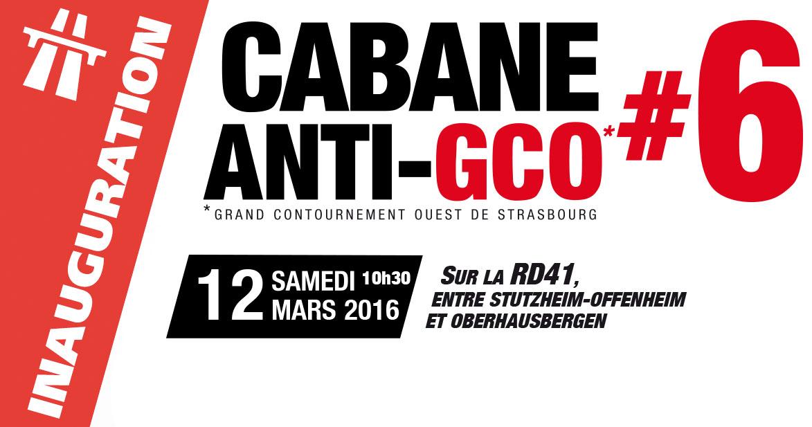 [GCO] 12 mars : inauguration de la cabane#6 à Stuzheim-Offenheim