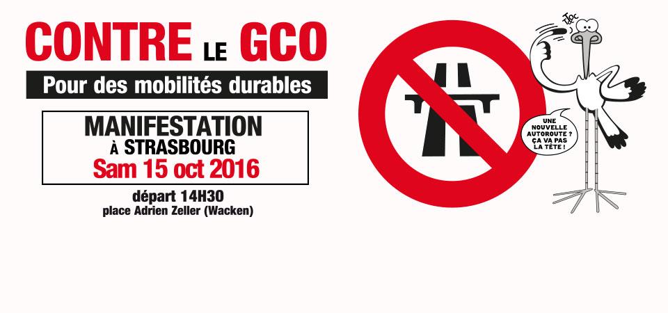 [GCO] 15 octobre 2016 : Grande manifestation à Strasbourg