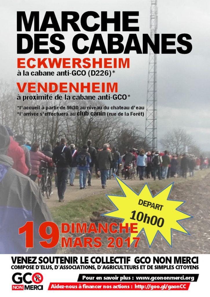 [mobilisation] 19 mars : 7ème marche des cabanes contre le GCO