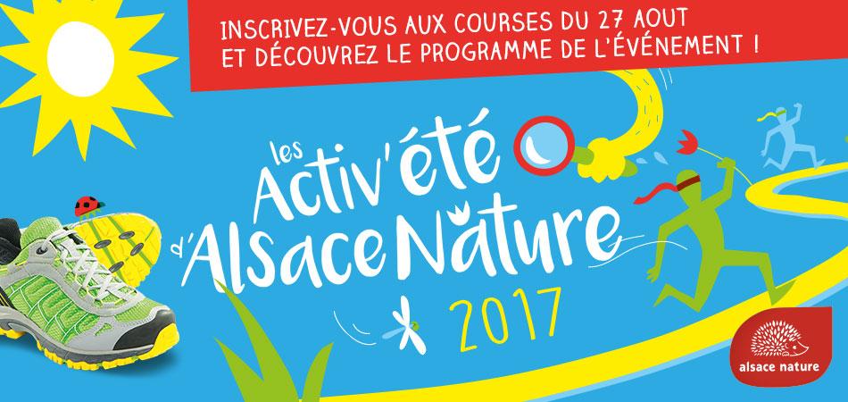 [Evénement] Dim 27 août – Les Activ'été d'Alsace Nature / courir pour la nature