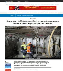 170830-Stocamine-ministere-contre-destockage-complet-des-dechets-CaptureFranceinfo
