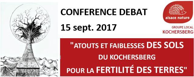 Conférence-débat : Fertilité des sols du Kochersberg – 15 sept. 2017