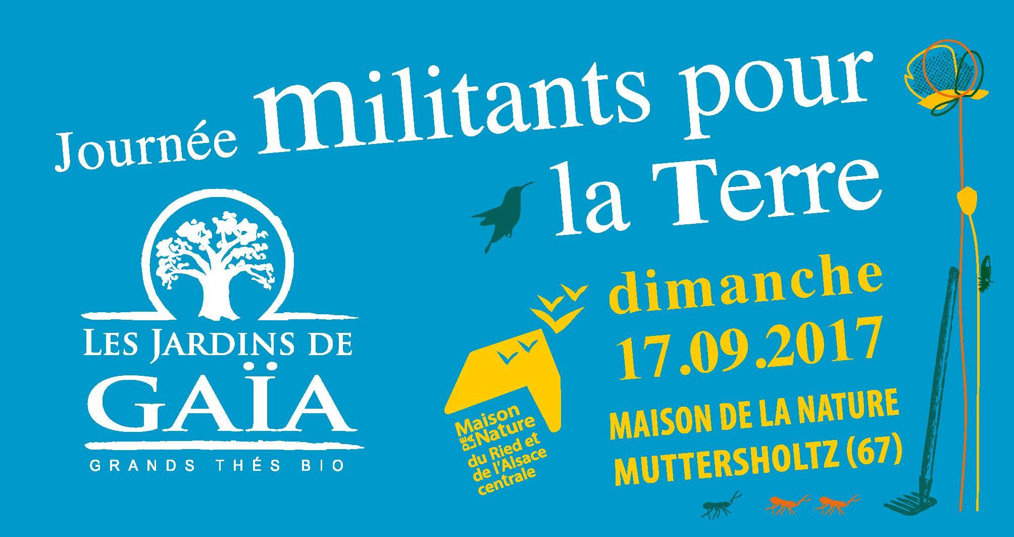 17 septembre : Journée les militants pour la Terre – avec les Jardins de Gaïa