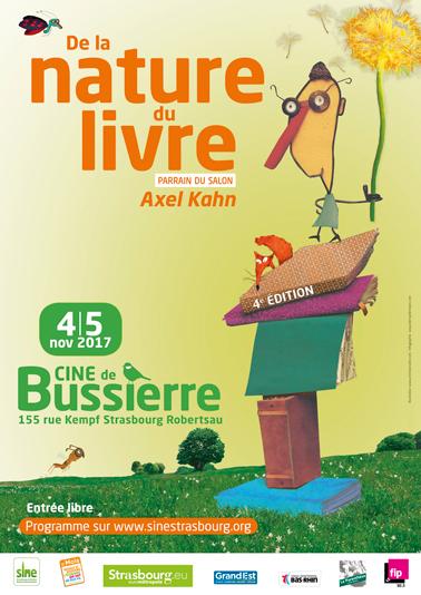 """Retrouvez Alsace Nature au Salon """"De la nature du Livre"""" à Bussierre les 4 et 5 novembre 2017"""