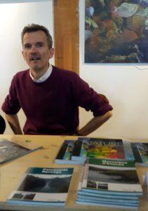 """Pascal Gérold, auteur u livre """"Le crépuscule du Blaireau"""""""