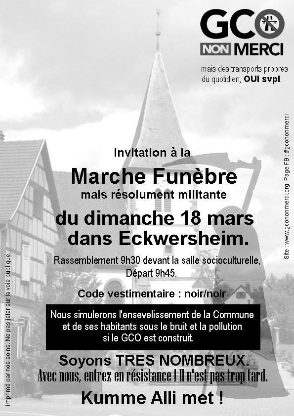 [mobilisation] GCO : Marche à Eckwersheim le 18 mars 2018