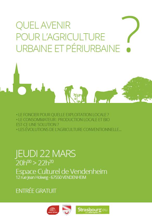 [soirée débat] Quel avenir pour une agriculture urbaine et périurbaine sur l'EMS ?