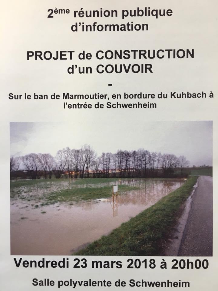 [Réunion publique] – construction d'un couvoir à Schwenheim