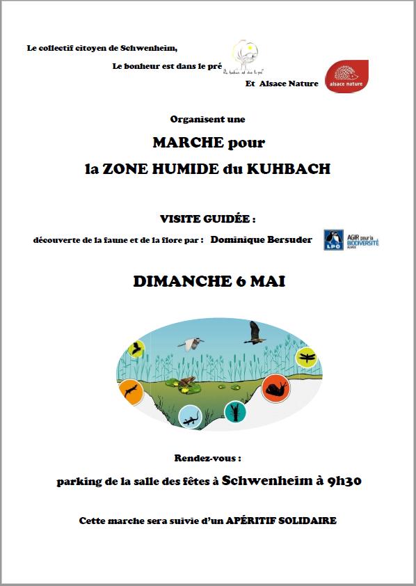 [couvoir de Schwenheim] 6 mai – Marche de découverte et de soutien