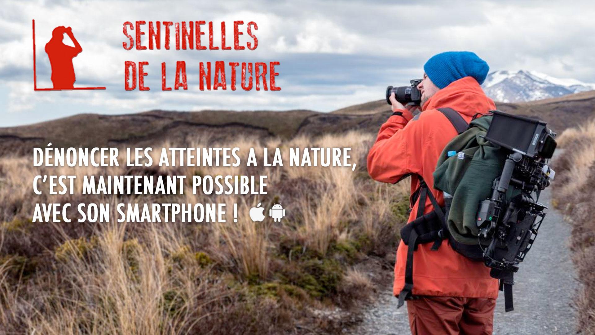 [Communiqué de Presse] Sentinelles de la nature : une nouvelle application mobile pour protéger l'environnement