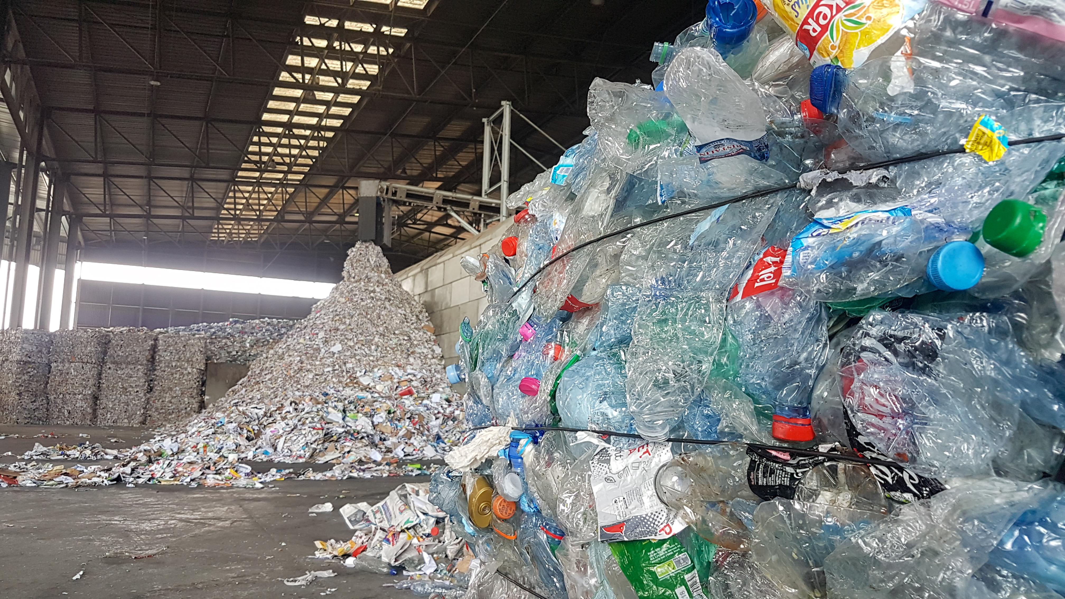 Recyclage : visite du centre de tri de Strasbourg