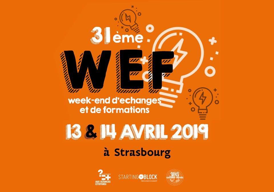 Week-end d'échanges et de Formation citoyen et associatif – Strasbourg