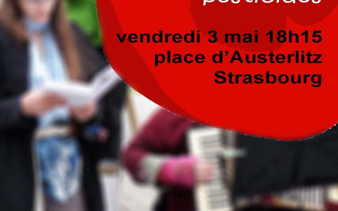 Nous voulons des coquelicots à Strasbourg