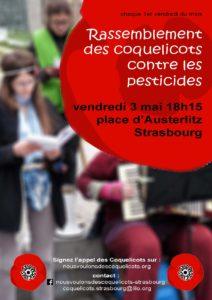 Nous voulons des coquelicots à Strasbourg @ Strasbourg   Strasbourg   Grand Est   France