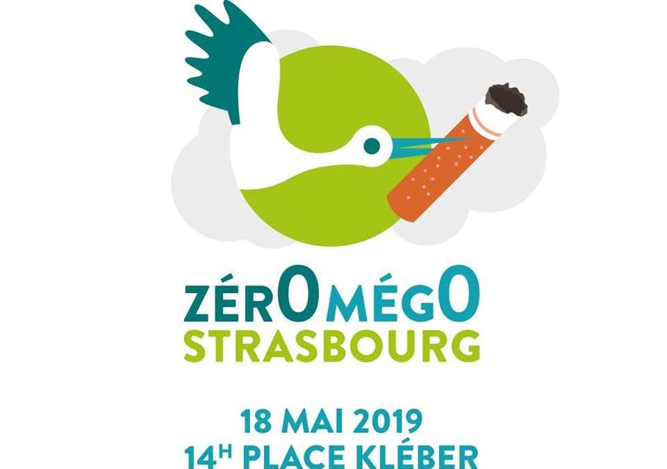 """Ramassage """"Zéro Mégo"""" à Strasbourg"""