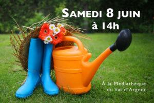 Balade littéraire autours des jardins @ Parvis de la Médiathèque du Val d'Argent | Sainte-Croix-aux-Mines | Grand Est | France