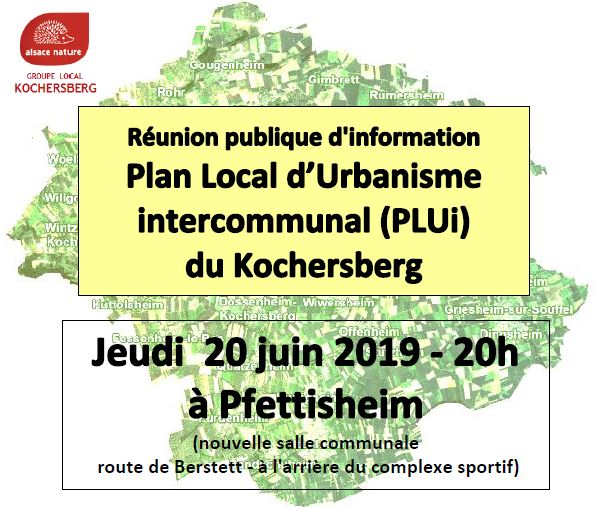 Enquête publique sur le Plan Local d'urbanisme intercommunal (PLUi) du Kochersberg
