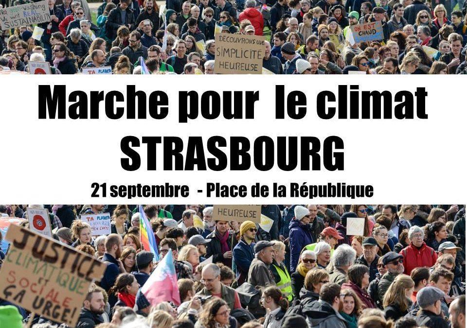 20 et 21 sept. 2019 : Marches pour le CLIMAT