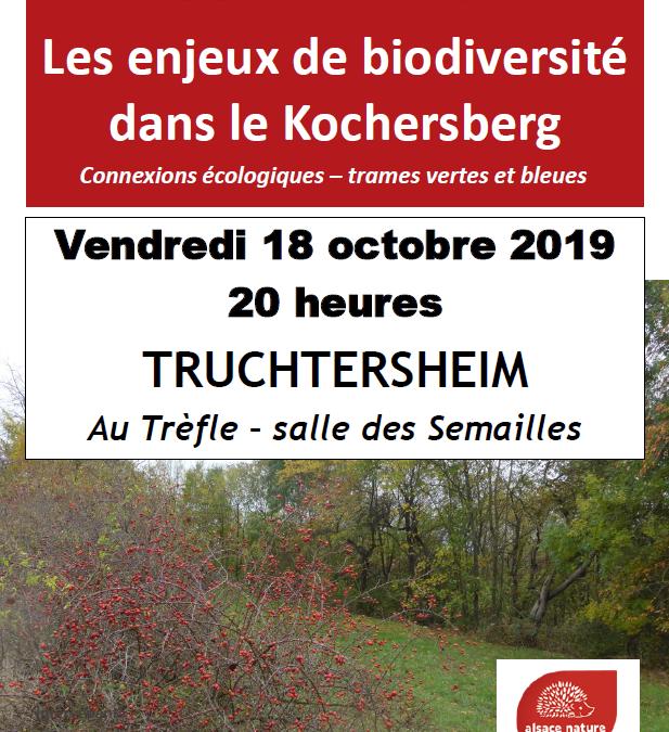 Les enjeux de biodiversité du Kochersberg