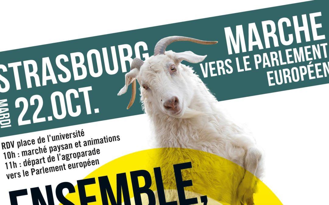 Pour une autre Politique Agricole Commune – Manifestation du 22 oct 2019