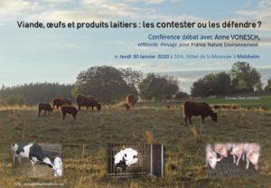 Viande, œufs et produits laitiers : les contester ou les défendre ? @ Hôtel de la monnaie, salon Bugatti | Molsheim | Grand Est | France