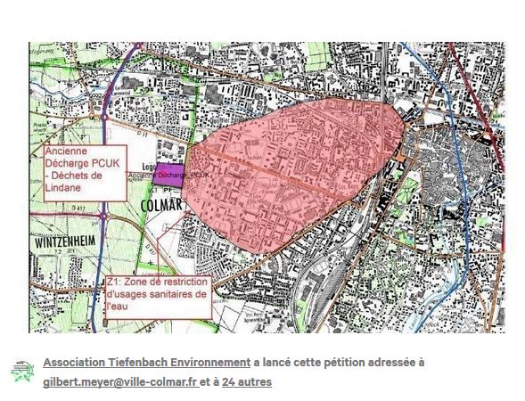 Wintzenheim (68) : Pollution au Lindane – 1ère victoire pour les citoyens