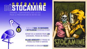 Stocamine : rassemblement 23 novembre 2019 - Wittelsheim @ Wittelsheim | Wittelsheim | Grand Est | France