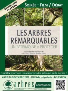 [Ciné débat] Les arbres remarquables : un patrimoine à protéger @ Salle polyvalente | Achenheim | Grand Est | France