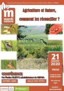 Mardi Nature: Agriculture et Nature: comment les réconcilier? @ salle des fêtes - Illkirch Graffenstaden | Illkirch-Graffenstaden | Grand Est | France