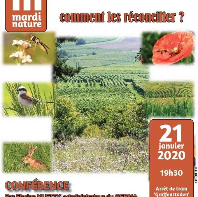 Mardi Nature: Agriculture et Nature: comment les réconcilier?