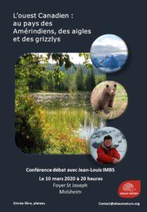 L'ouest canadien: au pays des Amérindiens, des aigles et des grizzlys @ Foyer Saint Joseph | Molsheim | Grand Est | France