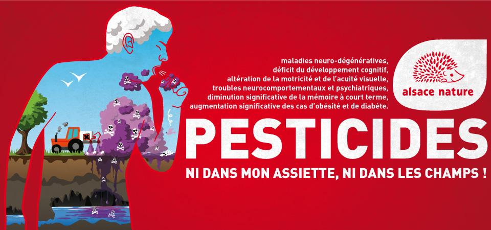 """L'évaluation européenne des règlements """"pesticides"""" vue à travers l'enquête d'Alsace Nature"""