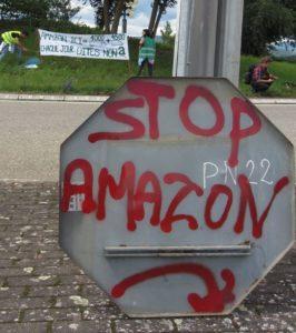 Rassemblement contre le projet d'implantation d'Amazon à Dambach-la-Ville @ Siège de la communauté de communes - BARR | Barr | Grand Est | France