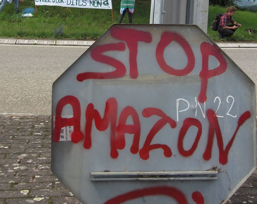 Le combat contre l'implantation d'Amazon à Dambach-la-ville se poursuit …