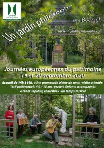 Une promenade pleine de sens : visite orientée d'un jardin philosophe à Boersch @ chemin Heffpfad | Bœrsch | Grand Est | France