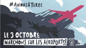 [Mobilisation] Le 3 octobre, marchons sur l'aéroport de Bâle-Mulhouse ! @ Saint-Louis-La-Chaussée | Saint-Louis | Grand Est | France