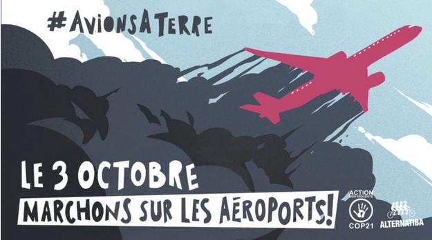 Le 3 octobre, marchons sur l'aéroport de Bâle-Mulhouse !