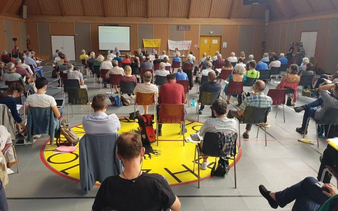 [AG d'Alsace Nature]  Signature de l'état d'urgence climatique et élection du nouveau Conseil d'Administration